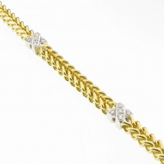 DB0010  Diamond Kiss Bracelet