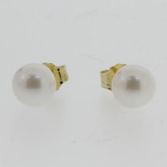 EO0273 18ct Pearl Earrings