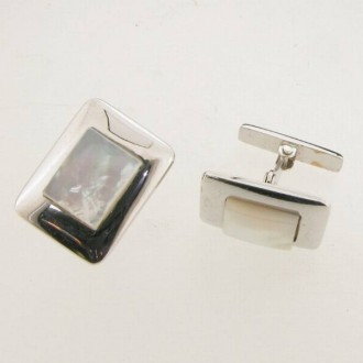 LN0038 Mother of Pearl Cufflinks
