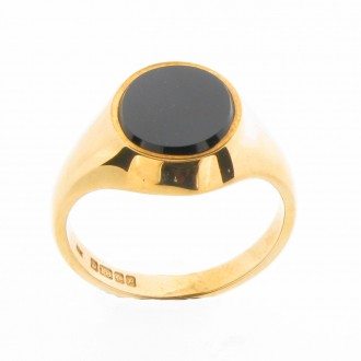 MS2316 18ct gold Signet Ring