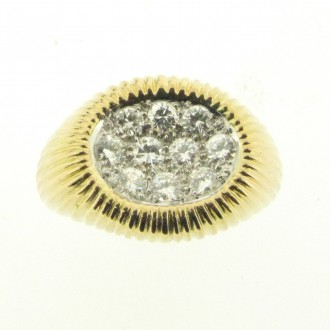 MS4214 18ct Diamond signet Ring