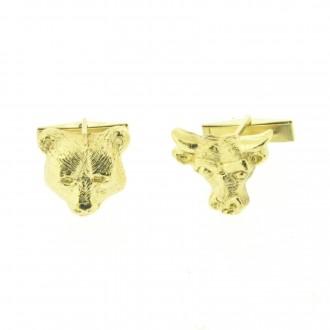 MS4303 Gold Cufflinks