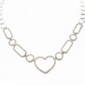 MS4553 Diamond Necklet