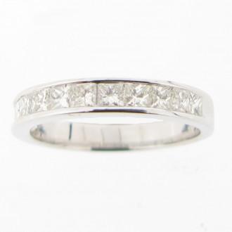 MS4809 18ct Diamond Half Eternity Ring