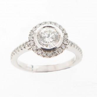 MS4825 Diamond Ring
