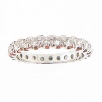 MS4893 18ct Diamond full Eternity Ring