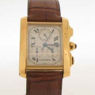 MS5487 Cartier Tank Francaise Watch