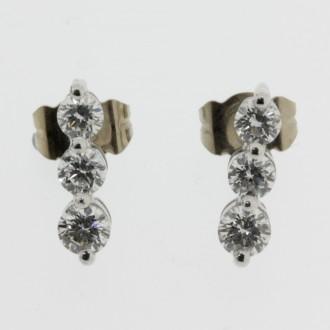 MS6244 Diamond earrings
