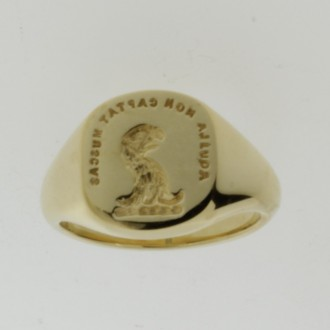 MS6431 18ct Signet Ring