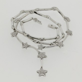 MS6505 Diamond Star Necklet