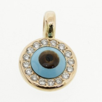 MS6558 Diamond Eye Pendant