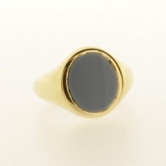MS6807 18ct gold Signet Ring
