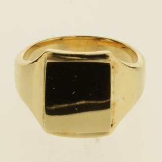 MS6922 18ct gold Signet Ring