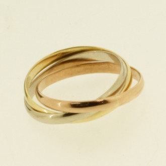 MS7097 18ct Russian Weddinf Ring