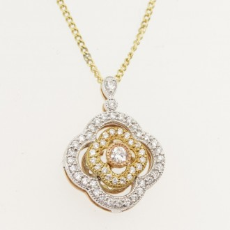 MS7489 Diamond Pendant