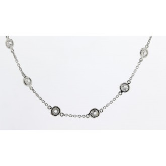 NK0138 18ct Diamond Necklet