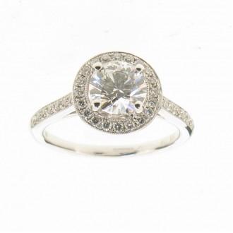 RD0357 18ct Diamond Ring