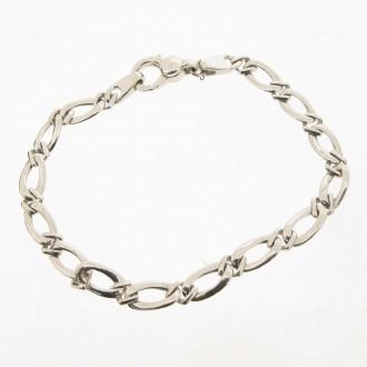BN0040 9ct Figaro Bracelet