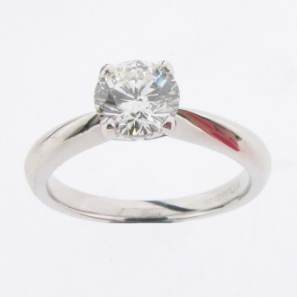 MS0807 Diamond Solitaire Ring