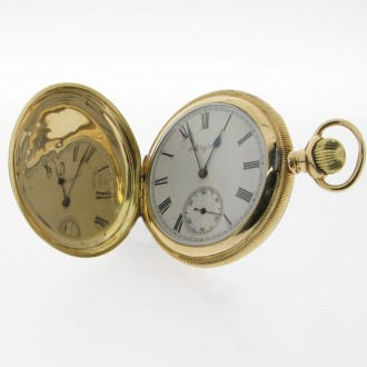 MS2851 Engraved Pocket Watch