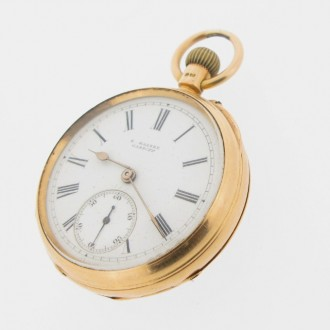 MS4900 18ct gold pocket watch