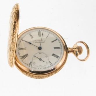 MS5063 Waltham Hunter Pocket Watch