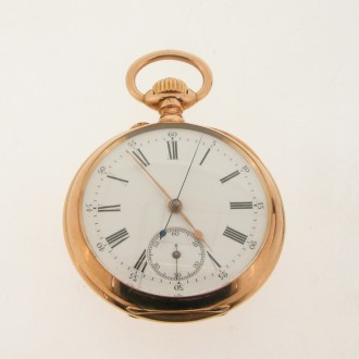 MS5362 18ct Gold Pocket Watch
