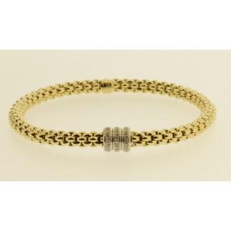 MS7202 18ct Fope Diamond Bracelet