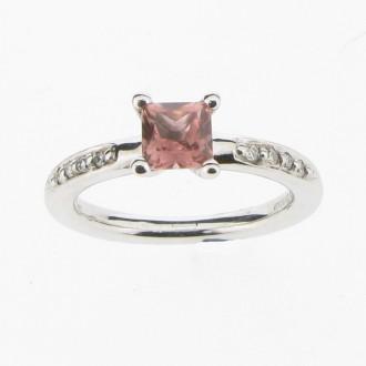RM0041 Tourmaline & Diamond Ring